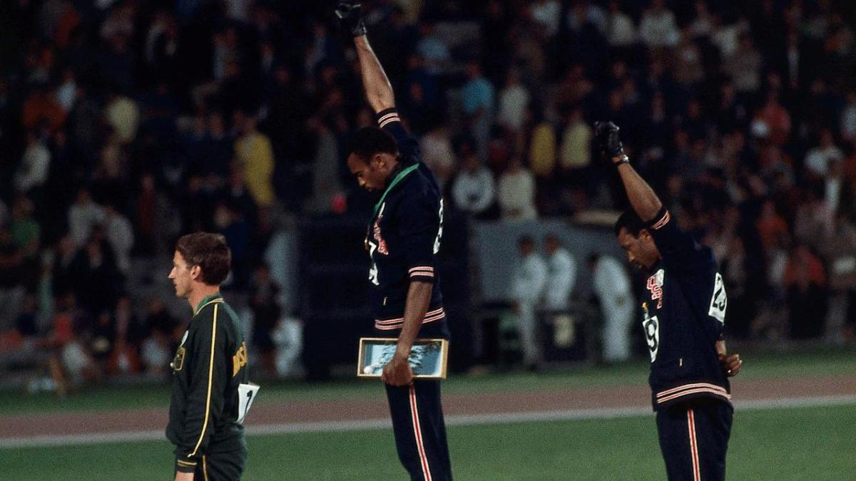Brief Photo History of Racial Protests in Sports